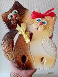 Керамическое панно: <b>Котики</b>-обнимашки – купить на Ярмарке ...