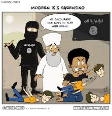 Image result for ISIS CARTOON