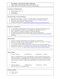 resume examples word template sample templates microsoft office it