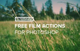 Free Film Photoshop Actions Pack - FilterGrade
