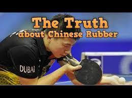 The Truth Chinese Rubbers – Ma <b>Long</b> equipment • PingSunday