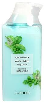 <b>Лосьон для тела</b> The Saem <b>Touch</b> on Body Water Mint Body Lotion ...