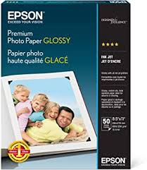 Epson Premium Photo Paper GLOSSY (8.5x11 ... - Amazon.com