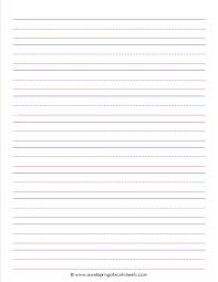 writing paper for kindergarten writing paper for kindergarten