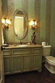 bathroomguest bathroom decorating guest also floor herringbone wall victorian guest bathroom with oval mirror