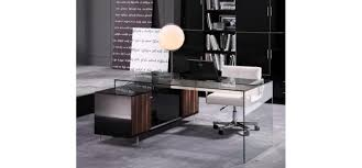 modern office furniture alaska black oak office desk