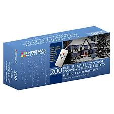 Cheap The Christmas Workshop 200 <b>Remote Control</b> LED Snowing ...