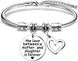Stainless Steel - Bracelets / Women: Jewellery - Amazon.co.uk