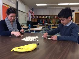 yarmouth th grader calm as a clam for bananagrams championship fourth grade teacher rosie lenehan on 29 helped yarmouth elementary school student sebastien martinez practice for the 9 bananagrams challenge