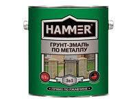 «<b>Эмаль по металлу hammer</b> черная 2,7кг» — Товары для ...