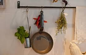 kitchen compositions hanging pot rack ideas