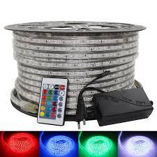 <b>SMD 5050 AC</b> 220V LED Strip Waterproof white led tape warm ...