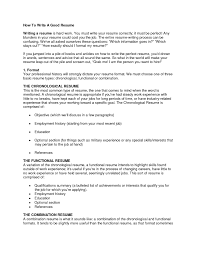 resume template how write a good impressive cvs in to 89 amusing how to make a great resume template