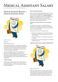medical assistant resume