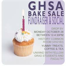 ghsa bake fundraiser social ghsa york university ghsa bake
