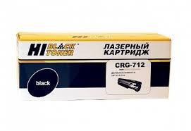 <b>Картридж Hi</b>-<b>Black</b> (HB-№712) для <b>Canon</b> LBP-3010/ 3100 ...