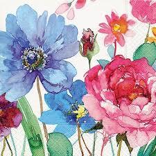 <b>Салфетки</b> для декупажа <b>Paper</b>+<b>Design</b> Красочные цветы ...