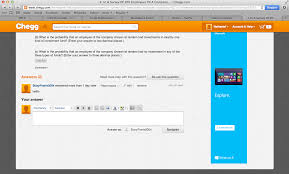 PART ONE OF THE PROBLEM  http   www chegg com homework help questions and answers  q        Chegg