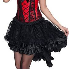 Oliveya Womens <b>Vintage</b> Petticoat Tulle <b>Skirt</b> Ballet Bubble Tutu ...