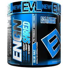 <b>ENGN Shred</b> - BLUE RAZ (8.1 Ounces Powder) by Evlution Nutrition ...