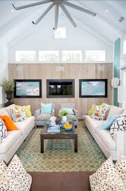 family room coastal transitional fmaily room familyroom transitionalinteriors beach house living room tropical family room