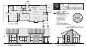 mod two modern house plan from Fox Design Studio in Canandaigua    by Fox Design Studio