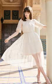 Vero Moda <b>2019 new lace</b> gauze dress 319261502