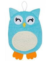 Махровая <b>мочалка</b>-<b>рукавичка Roxy Kids</b> Baby Owl: с бесплатной ...