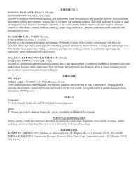 examples of resumes resume housekeeping sample for in  81 glamorous examples of resume resumes