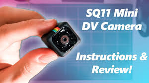 SQ11 <b>Mini DV Camera</b> Setup, Review, Instructions and Sample ...