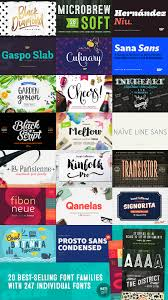 20 best selling font families 247 individual fonts design 20 best selling font families