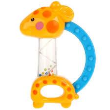 """<b>Развивающая</b> игрушка погремушка """"Жираф"""" с <b>прорезывателем</b> ..."""