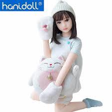 <b>Hanidoll Silicone Sex Doll</b> 115cm mini Japan Love Doll Metal ...