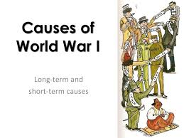 causes of the first world war essay   term paper