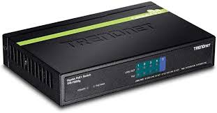 <b>TRENDnet</b> 5-Port Gigabit PoE+ Switch, 31 W PoE Budget, 10 Gbps ...