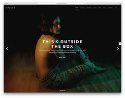 modern creative wordpress themes colorlib fatmoon creative fullscreen wp template