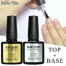Pin on Gel Nail Base Coat <b>Top</b> Coat Set