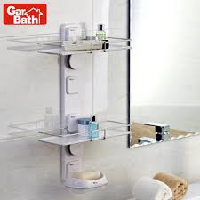 bathroom box buy sucker bath room shelf wall shelf belt double layer soap box shelf for bathroom accessories shower caddy rack organizer in cheap price on alibabacom