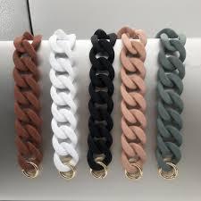 <b>1 PC</b> 30cm/41cm DIY <b>Fashion Colorful</b> Detachable Acrylic Chain ...
