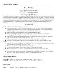 resume examples hvac resume objective summary of skills summary of skills for resume skills summary resume examples teacher summary qualifications resume examples customer service