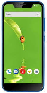 Купить мобильный телефон <b>Fly View 4G blue</b> в Москве, цена ...