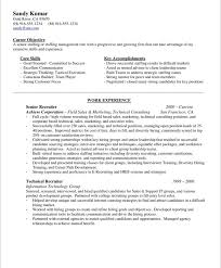 hr recruiter free blue sky targeted resume examples