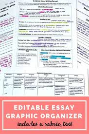 best images about writing student persuasive essay graphic organizer editable