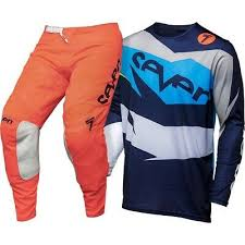 <b>Seven</b> NEW <b>Mx 2018</b> Annex Ignite Coral Navy Adult <b>Motocross Dirt</b> ...