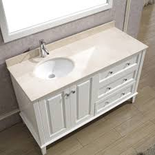 55 inch double sink bathroom vanity: inspirational  bathroom vanity without top double sink inch single white tops with built in cabinet cheap