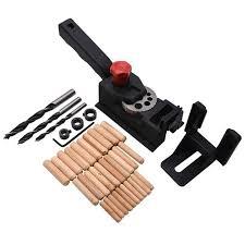 <b>38PCS Woodworking Drilling Locator</b> Guide Wood Dowel Hole ...