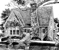 Southern Living House Plans   English Cottage House PlansSl