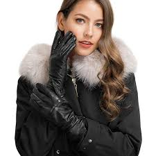 <b>Women's</b> Touchscreen Genuine <b>Leather</b> Gloves - Acdyion <b>Winter</b> ...