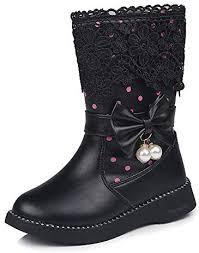 BOZEVON <b>Kids</b> Shoes - <b>Bow</b> Cute Lapped <b>Lace</b> Plus <b>Cotton</b> Girls ...