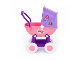 <b>Коляска</b> для кукол <b>Полесье Arina</b> 4-х колесная (в пакете) купить в ...